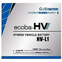 G&Yuバッテリー 【ハイブリッド車補機用バッテリー液式タイプ】 HV-L1 (50Ah/20時間率容量) バッテリー 充電器 充放電