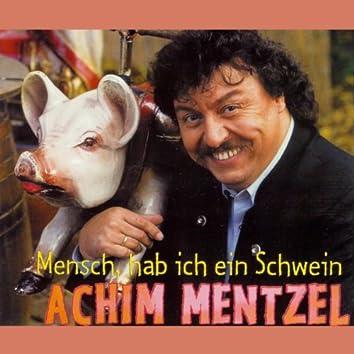 Mensch, hab ich ein Schwein