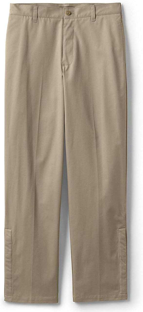 Lands' End School Uniform In a popularity Men's Pants Adaptive Chino Cheap bargain Blend