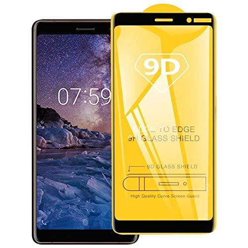 AGAN AYDD 9D Vollkleber Full Screen Tempered Glass Film für Nokia 7 Plus