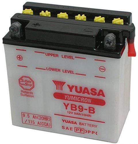 MIM Distribution YUASA YB9-B accu voor Piaggio Vespa ET4, LX 125 CCM jaar 96-00