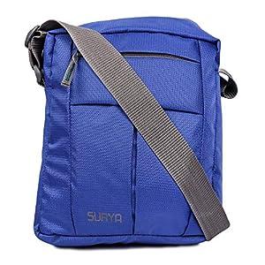 Surya Cross Body Bag   Side Sling Bag   Shoulder Bag   Messenger Bag for Men & Women (Blue)