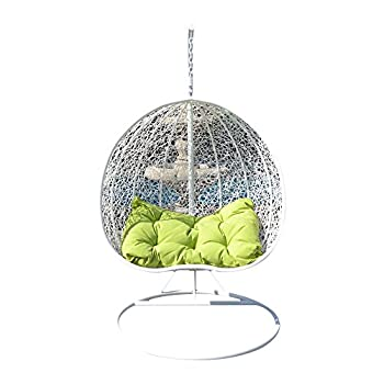 Generic Egg Nest Shaped Wicker Rattan Swing Chair Hanging
