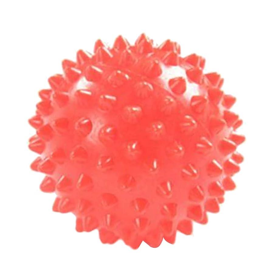 指令努力するベールFLAMEER マッサージボール ツボ押し ヨガボール 触覚ボール 7cm オレンジ
