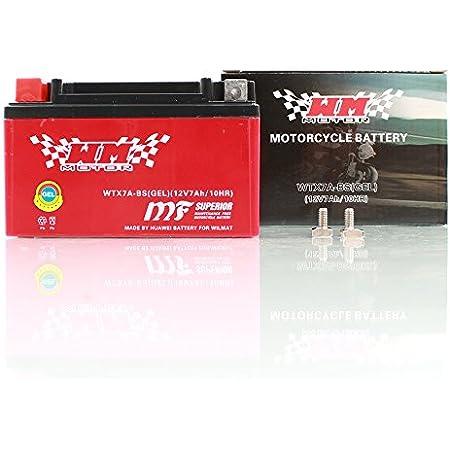 Ytx7a Bs Gel Batterie Motorrad Roller Quad 7ah 12v Wm Motor Sport Auto