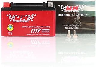 YTX7A BS Gel Batterie Motorrad Roller Quad 7AH 12V WM Motor Sport