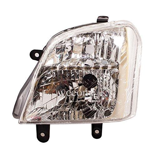 K1AutoParts 1 Left Side Front Headlight Headlamp Head Light Lamp For Isuzu D-MAX Dmax UTE Pickup 2003 2004 2005 2006