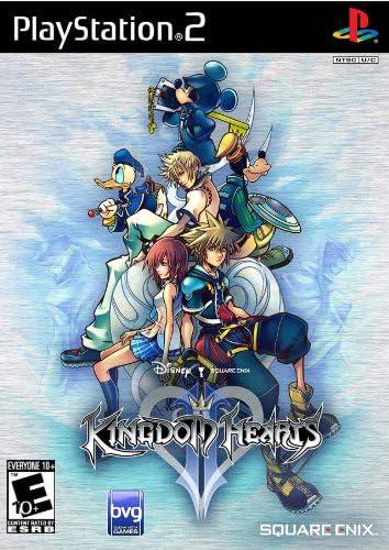 Kingdom Hearts II - Original Black Label Version - PlayStation 2