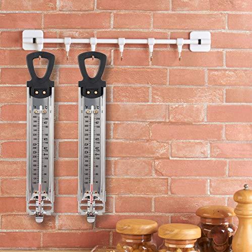 Süßigkeitsthermometer, Tester, praktisches Scale / ℃-Doppelmaßthermometer, digitales Lebensmittelthermometer, Aufhängen für Küchenfleisch