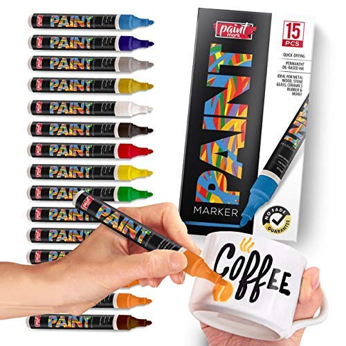 Permanent Paint Markers For Plastic And Glass Amazon Com