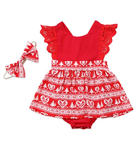 MA&BABY Christmas Toddler Newborn Kids Baby Girls Dress