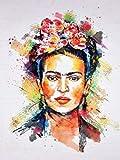 LSDEERE Dibujos de Frida Kahlo para Colorear Pintar e Imprimir Gratis ...