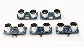 Xiton Generic 5 Pcs HC-SR04 Ultrasonic Module Distance Measuring Transducer Sensor For Arduino