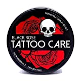 Tattoo Aftercare Ointment with Natural Ingredients, Black Rose - 1.23 Oz Moisturizing Cream, Tattoo...