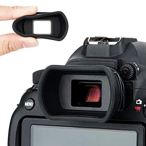 Kiwifotos Augenmuschel Okular für Canon EOS 800D 90D 80D 77D 6D Mark II 6D 5D Mark II 5D 70D 60D 60Da 760D 750D 700D 650D 550D 500D 100D 1500D 1300D 1200D 1100D 1000D 3000D ersetzt Canon EB EF Eye Cup