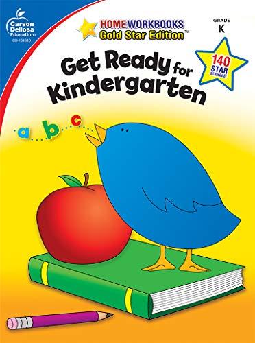 Carson Dellosa | Get Ready for Kindergarten Workbook | 64pgs (Home Workbooks)