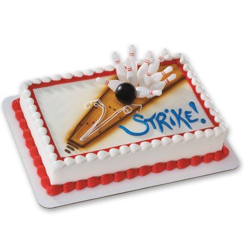 Bowling DecoSet Cake Decoration