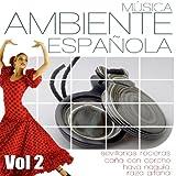 Musica Ambiente Española. Flauta, Guitarra y Compas Flamenco vol 2