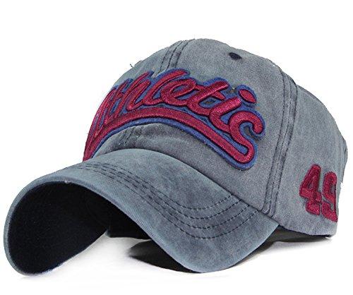 Baumwolle Baseball Caps Baseball Mützen Unisex Baseballmütze Lässig Kappe UV-Strahlen Schirmmütze verstellbar Sonnenhut Basecap für Damen, Herren und Kinder