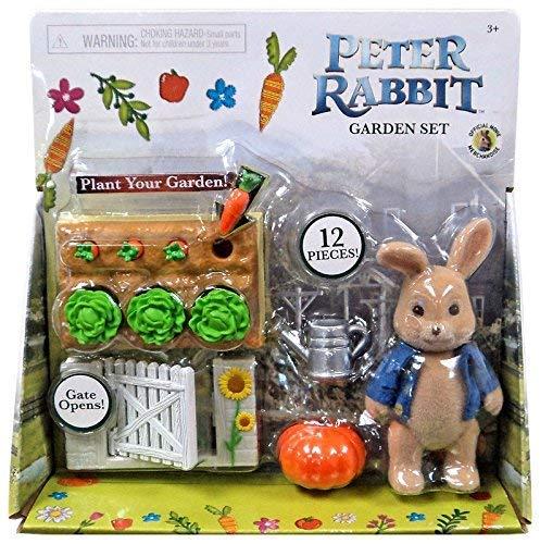 """Peter Rabbit Garden Set With Peter Action Figure 3.5"""" (2018 Release)"""