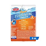4. HTH 42032 Super 3-inch Chlorinating Tablets Swimming Pool Sanitizer, 6 oz