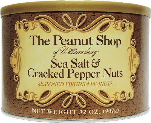 Sale Special Price The Peanut Shop of Luxury Williamsburg S Sea Seasoned Virginia Peanuts