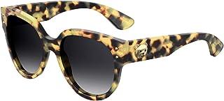 Moschino MOS013/S Sunglasses Yellow Havana w/Dark Grey Gradient Lens 56mm SCL9O MOS 013S MOS 013/S MOS013S