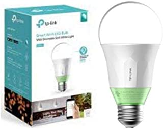 TP-Link Smart LED Light Bulb, Wi-Fi, Dimmable White, 60W Equivalent, Works with Amazon Alexa and Google Assistant, 1-Pack ...