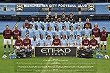 1art1 Fußball - Manchester City, Mannschaftsfoto 10/11
