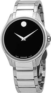 Movado Men's Ario Black Dial Watch - 607446