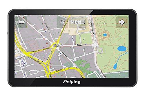 Peiying Navegación dispositivo GPS Alien PY de gps7013Plus Mapa de Europa, 7pulgadas, Windows CE 6.0, Bluetooth, audio y vídeo reproducción, SC Micro Ranura, USB 2.0