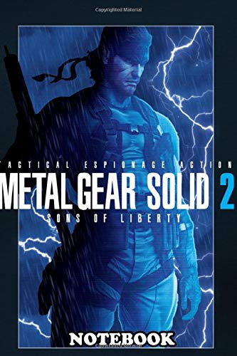 Notebook: Gear Solid 2 Tanker Storm , Journal for Writing, College Ruled Size 6