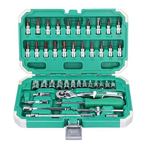 Juego de herramientas Kit de reparación de automóviles para automóviles Estuche profesional Herramientas manuales para el hogar Caja de piezas Hardware