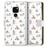 DeinDesign Étui Compatible avec Huawei Mate 20 Étui Folio Étui magnétique Winnie l'ourson Disney...