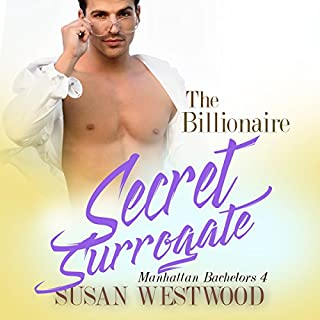 The Billionaire's Secret Surrogate audiobook cover art