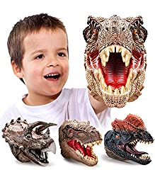 Dinosaur Hand Puppets 3 Pack - Up to 40% Off!
