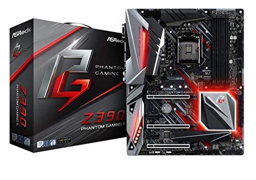 Asrock Z390 Phantom Gaming 6 LGA 1151 (Zócalo H4) Intel Z390 ATX - Placa Base (DDR4-SDRAM, DIMM, 2133,2400,2666,2800,2933,3200,3600,3733,3800,3866,4000,4133,4266,4300 MHz, Dual, 64 GB, Intel)