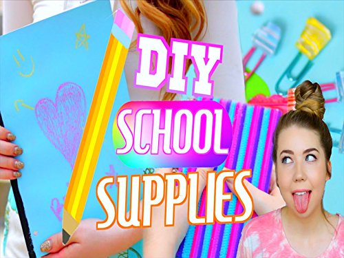 DIY School Supplies! Cheap & Cute Back to School DIYs!