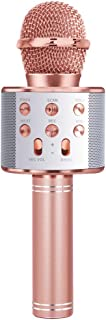 Shmily Wireless Bluetooth Karaoke Microphone Speaker Machine Home Party Birthday Gift - Great Gift