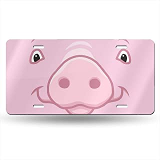 pig license plate