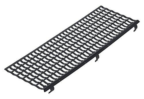 INEFA Laubfangstreifen, Dachrinnenschutz, NW 100/125/150, Schwarz 100 cm   30 Stück