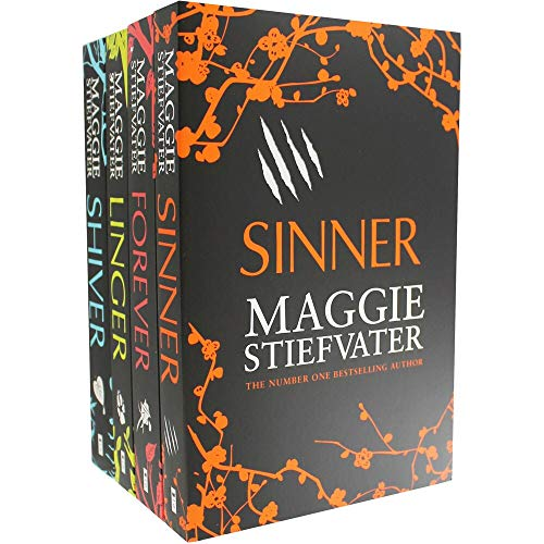 Maggie Stiefvater Wolves of Mercy Falls 4 Books Collection Set (Shiver, Linger, Forever, Sinner) [Paperback] Maggie Stiefvater