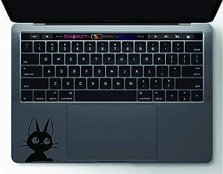Jiji Peeking Kiki s Delivery Service Studio Ghibli Hayao Miyazaki Apple Macbook Laptop Trackpad Keyboard Vinyl Sticker Decal