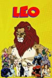 Leo: Comic Zodiac Sign Journal to write in | 6 X 9 inches | Notebook 100- page lined | Great record keeping notebook gift for your loved ones.