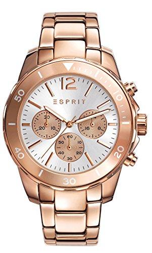 Esprit Damen-Armbanduhr Haylee Chronograph Quarz Edelstahl beschichtet ES108262006