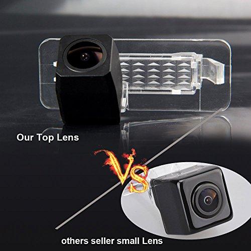 Dynavsal HD Rückfahrkamera für Mercedes Smart R300 / R350 Einparkhilfe, Kamera für Nummerschildbeleuchtung, Kennzeichenbeleuchtung Farb