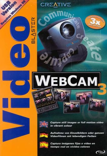 Creative Video Blaster WebCam III PC Kamera WEB