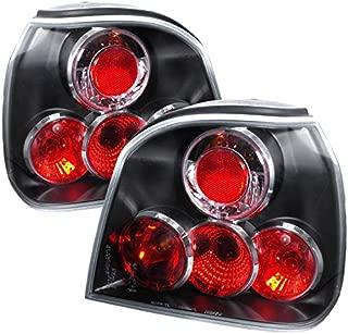 Carpartsinnovate For VW 93-98 Golf Mk3 III Parking Tail Lights Reverse Brake Rear Lamps Black