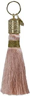Papaya: Tassel Keychain, Elegant Keychain, Boho Chic Keychain Gift, Purse Tassel For Adding Flare To Accessories