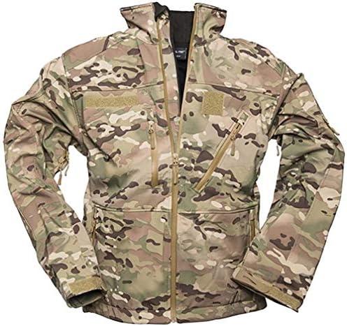 Mil Tec Men s Softshell Jacket SCU 14 Multitarn Size L product image